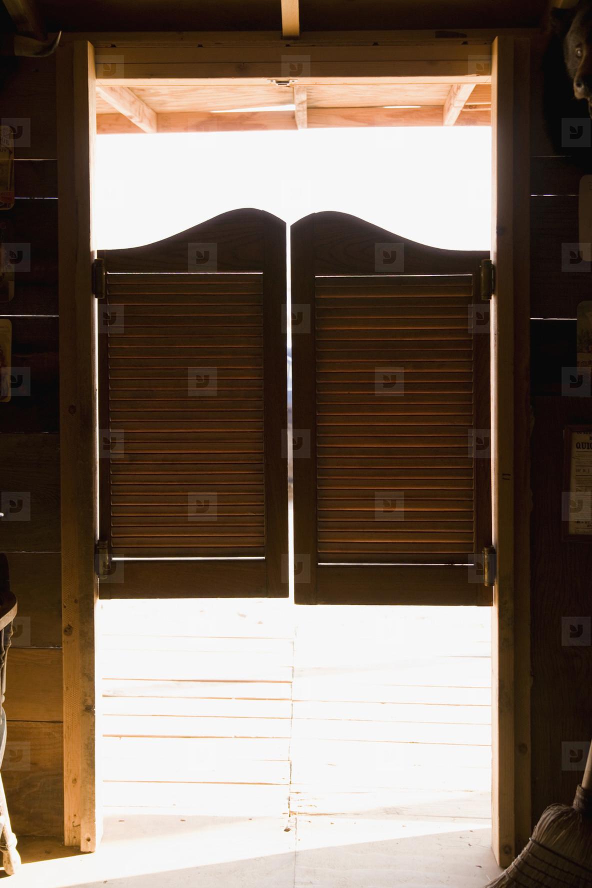 Маятниковые двери: характеристики и применение 95