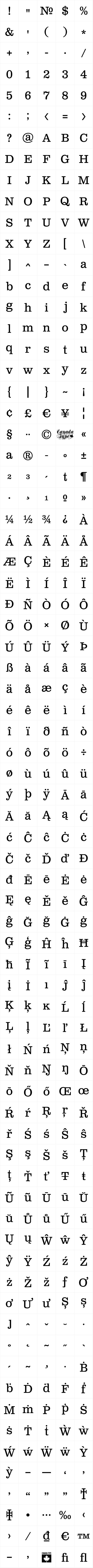 Clarendon Text