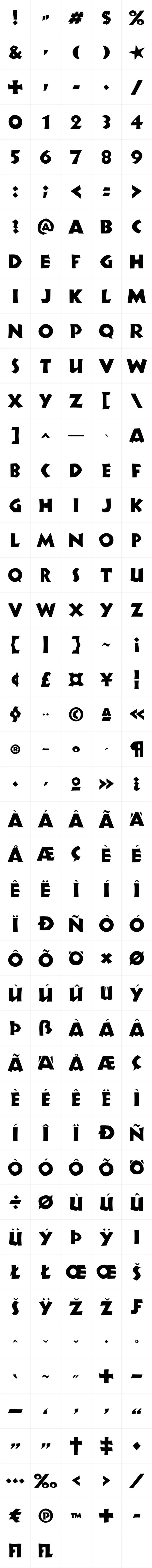 P22 Koch Signs Set