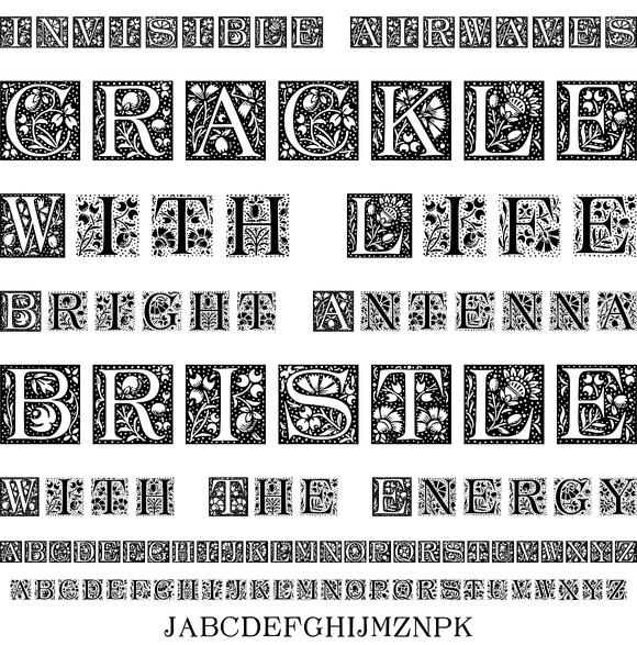 LTC Ornamental Initials