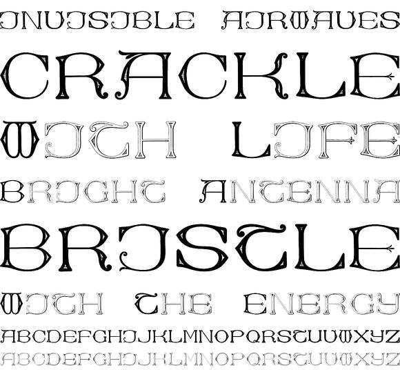 Dolphus Mieg Alphabet