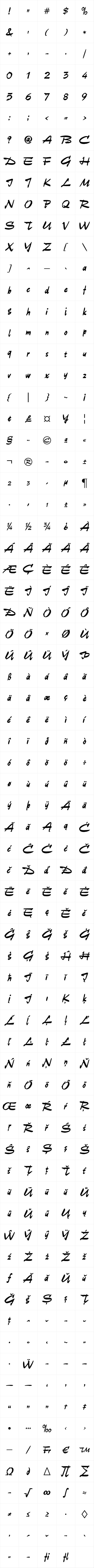 Unger Script