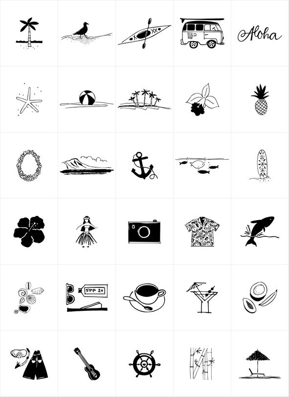 Waikiki Doodles