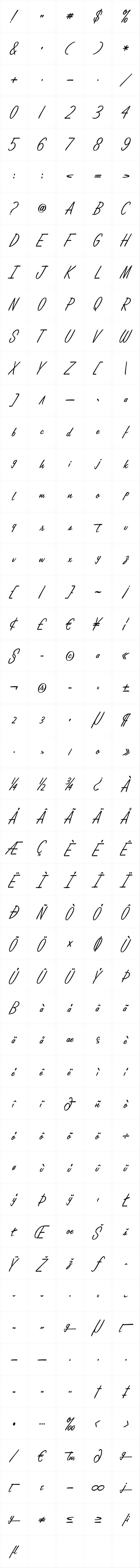Lamplighter Script