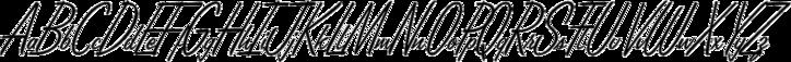 Lamplighter Script Marquee