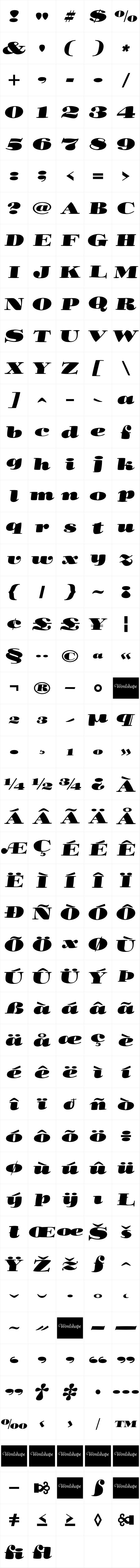 Cooper Fullface Italic Pro
