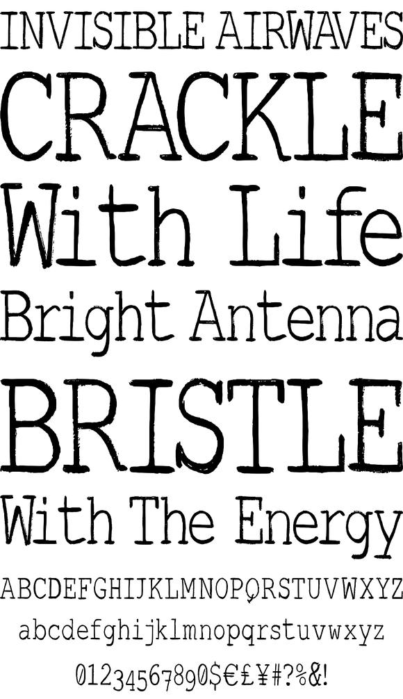 Brush Serif