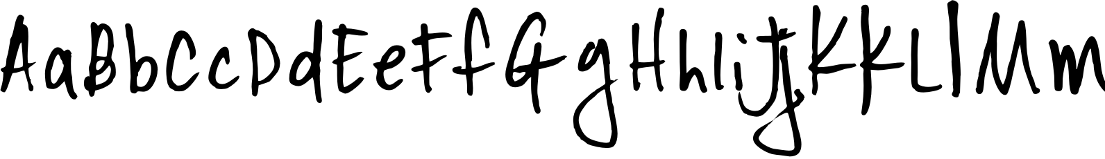 YWFT Signature Alternate Light Font