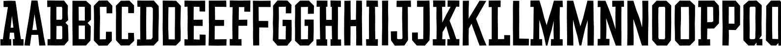 YWFT League Regular Font