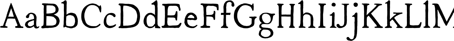 YWFT Neighborhood Font