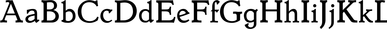 Dutch Mediaeval Book Font