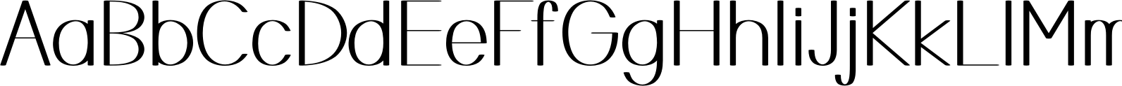 Mankind Regular Font