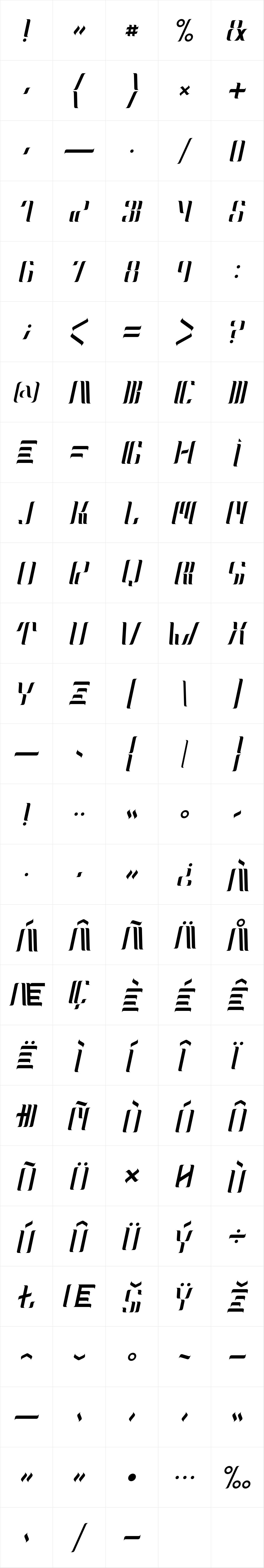 Neolux Alternate Italic