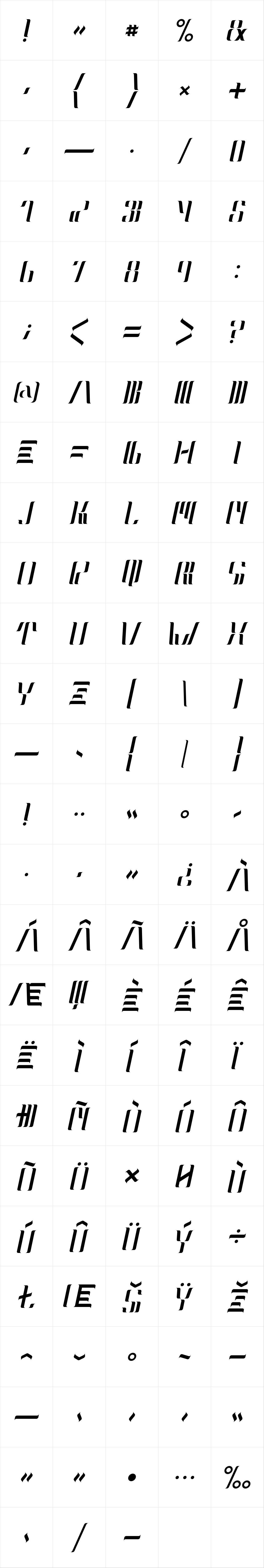 Neolux Italic