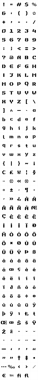 Octa Stencil Bold