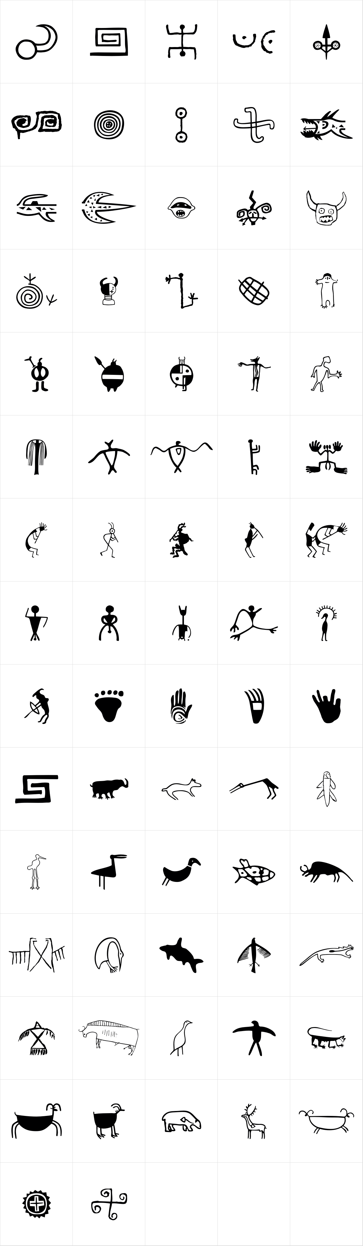 P22 Petroglyphs North American