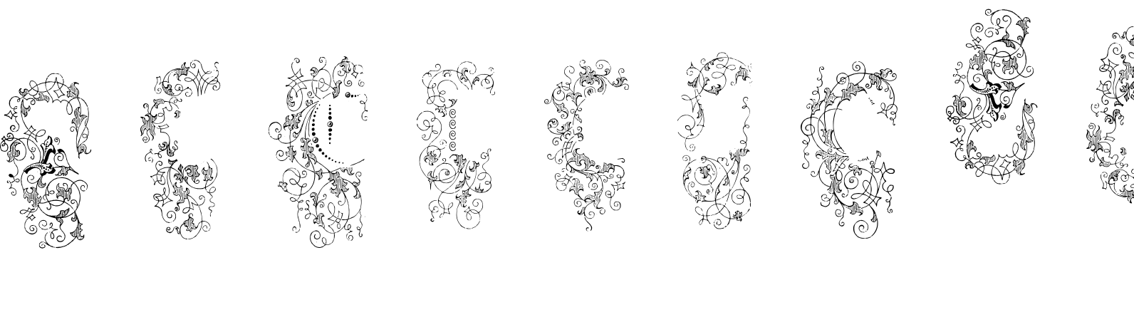Grave Ornaments Regular Font