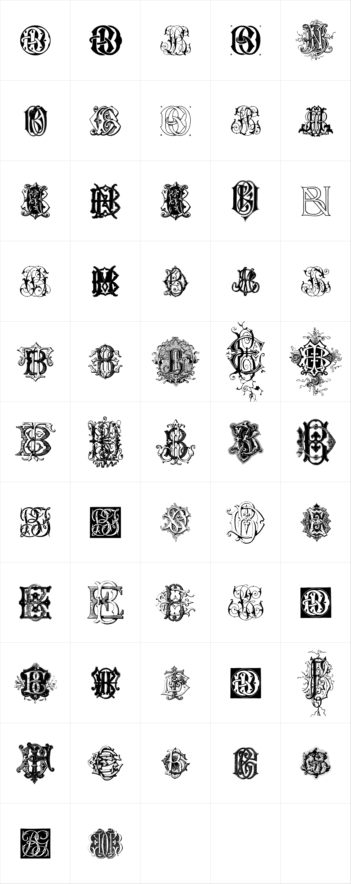 Intellecta Monograms BDBO New Series