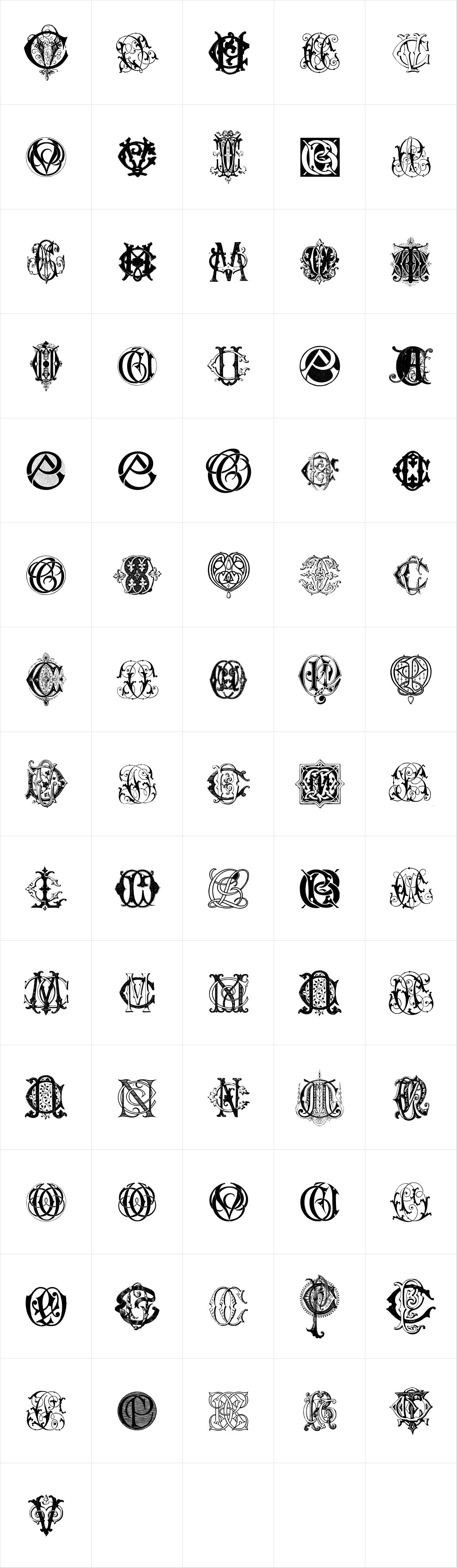 Intellecta Monograms CACV New Series