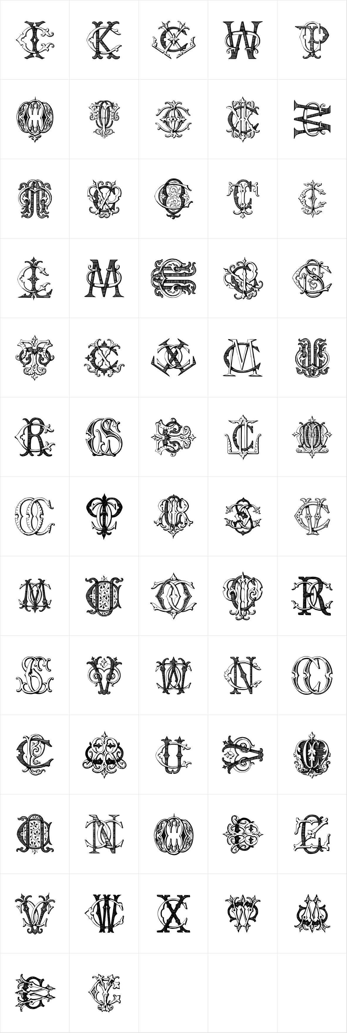 Intellecta Monograms CICZ