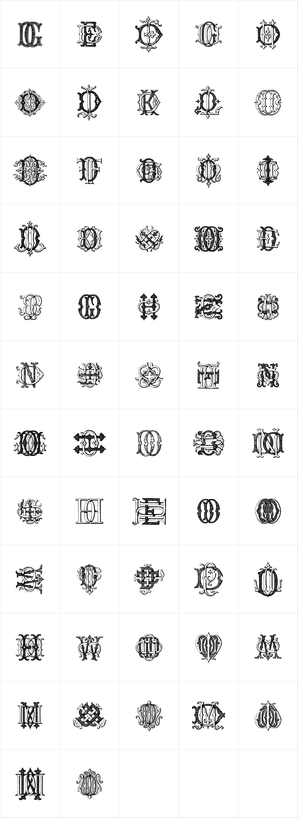 Intellecta Monograms DDDP