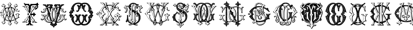 Intellecta Monograms FRGW Font