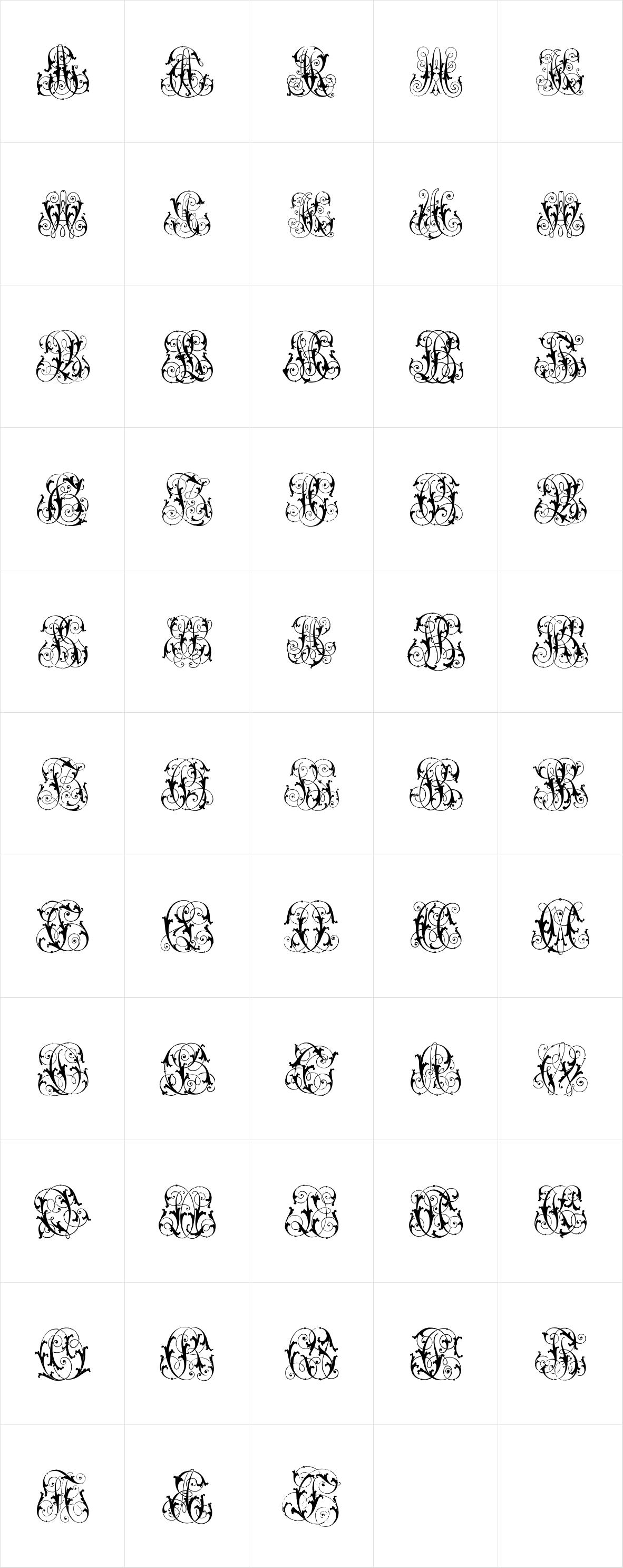 Intellecta Monograms Special Series AECZ