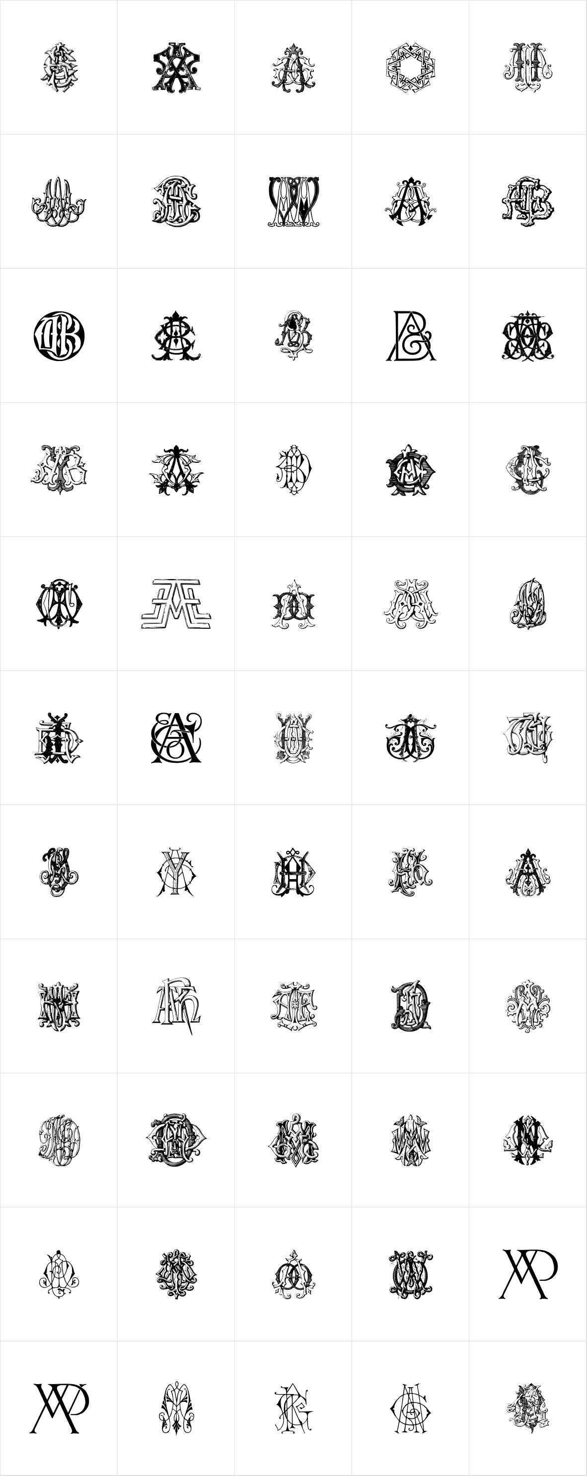 Intellecta Monograms Triple AAA AYM