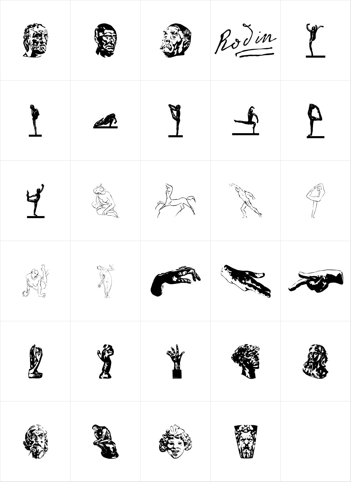 P22 Rodin Extras