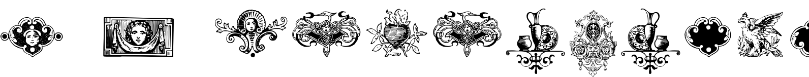 Renaissance Ornaments