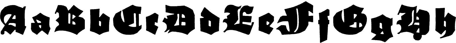 Schneidler Grobe Gotisch