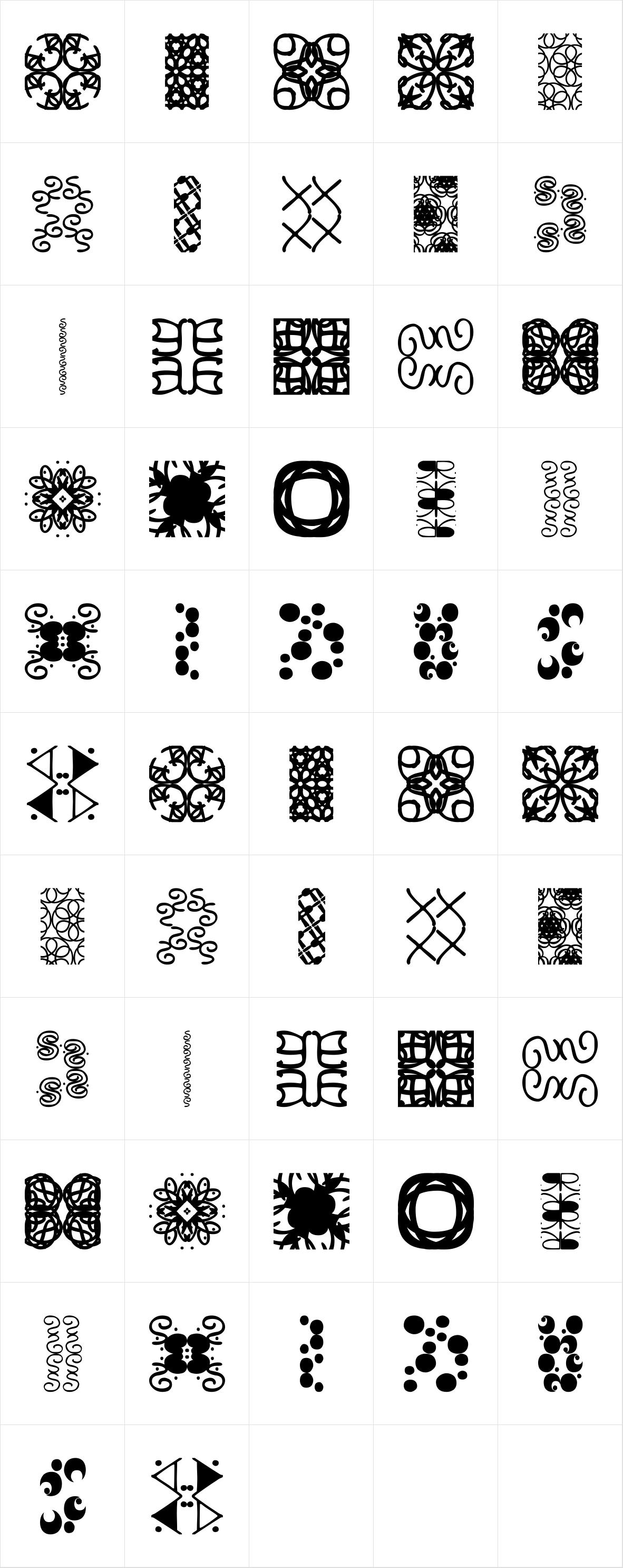 Vitrines Pattern