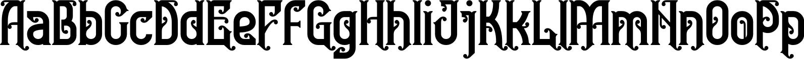 Bedesau Typeface
