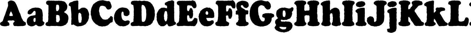 Cooper Antique Cond D Font