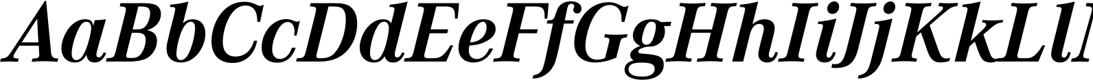 Corporate A Bold Italic Font