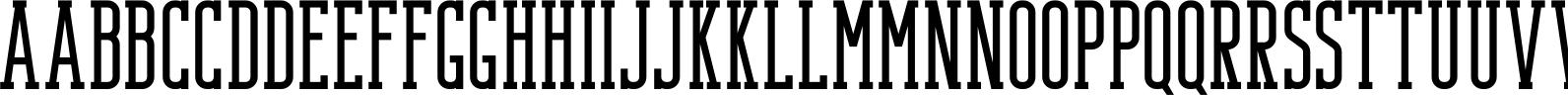 Bondie - Condensed Slab Serif