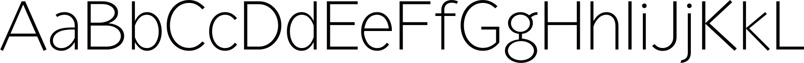 Seed Light Font