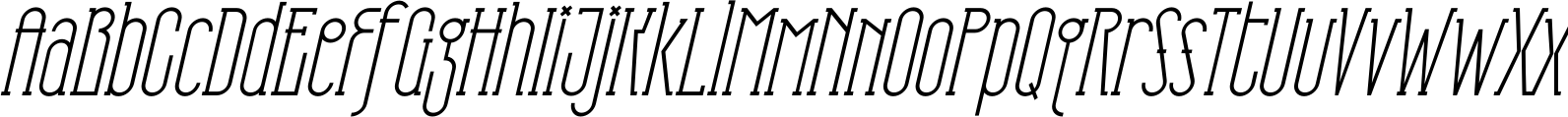 TS Horse Face Regular Oblique Font