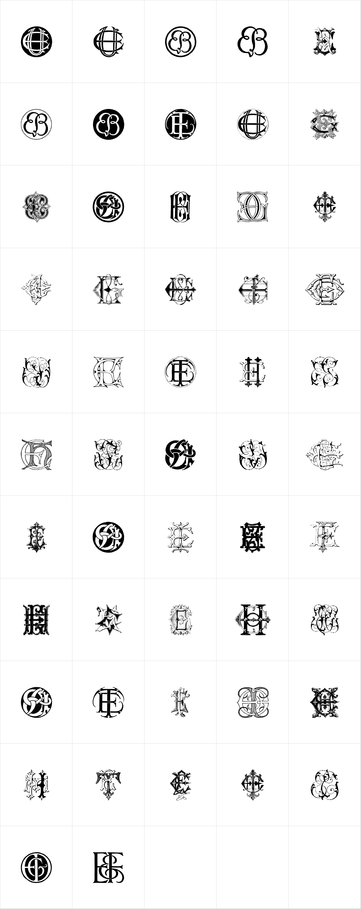 Intellecta Monograms New Series EBEU