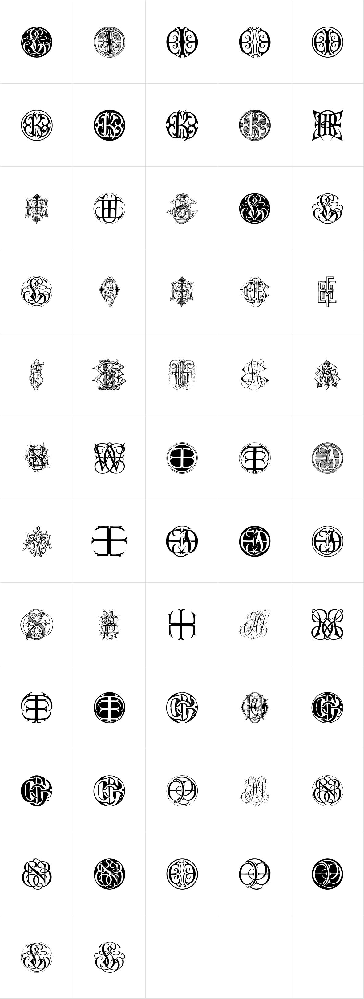 Intellecta Monograms Triple EEI FEJ