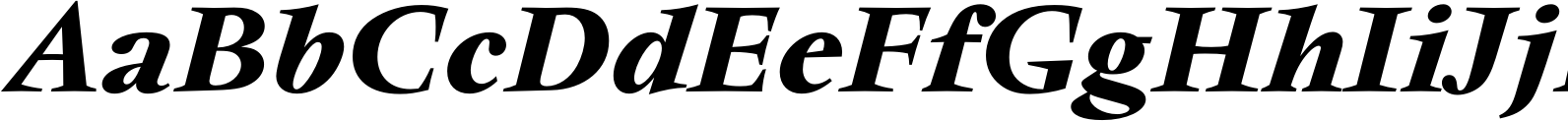 Vendome Medium Italic