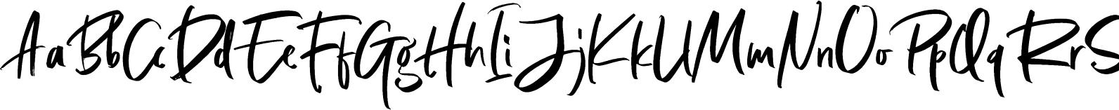 Bargitta Script - SVG Font
