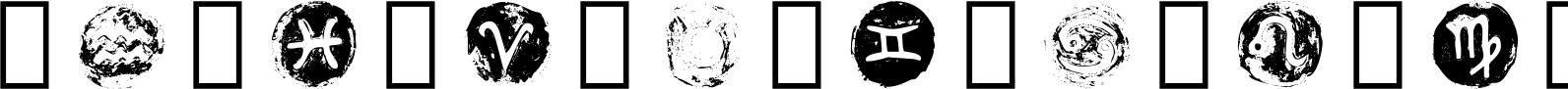 Starsigns Color SVG