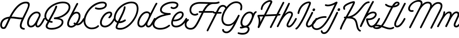 Bulgis Script - Variable Font