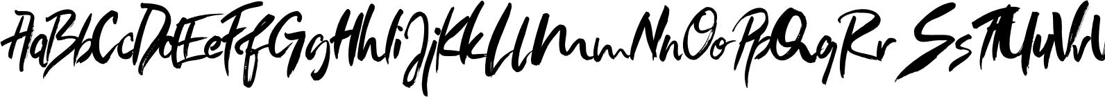 Loving Rose - Watercolor SVG Font
