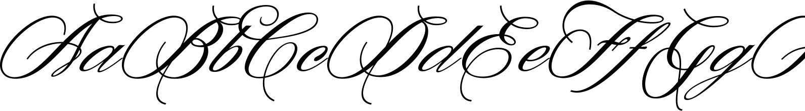 Denita Script