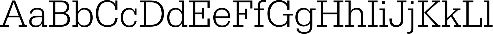 Egyptienne URW Narrow Light Font