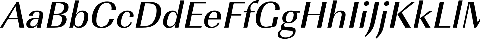 Imperial URW Medium Oblique Font