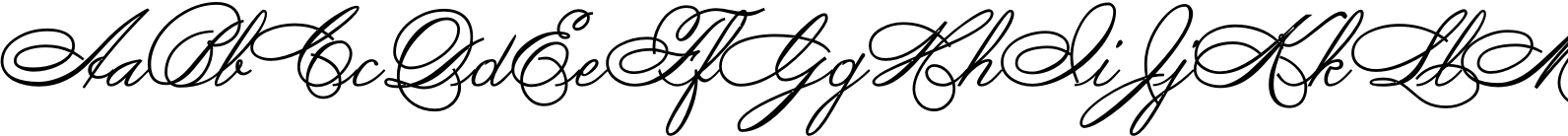 Spencerian By Product Font