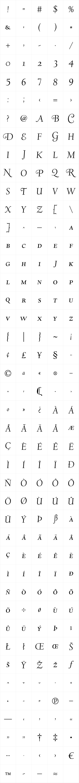 LTC Deepdene Swash SC OSF Italic
